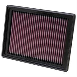 K&N 33-2318 Lifetime Air Filter, Buick 3.5L-3.9L, Chevy 3.5L-3.9L