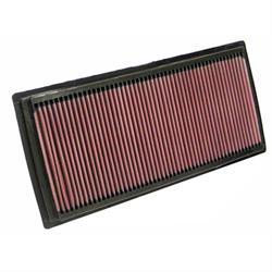 K&N 33-2324 Lifetime Performance Air Filter, Nissan 2.5L, Suzuki 2.5L