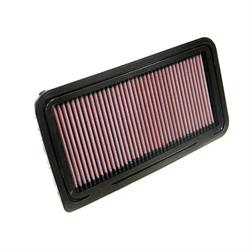 K&N 33-2335 Lifetime Performance Air Filter, Mazda 1.8L-2.0L