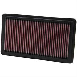 K&N 33-2343 Lifetime Performance Air Filter, Honda 2.0L-2.4L