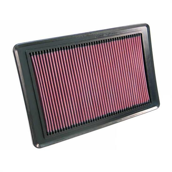 K&N 33-2349 Lifetime Performance Air Filter, Pontiac 2.4L, Saturn 2.4L