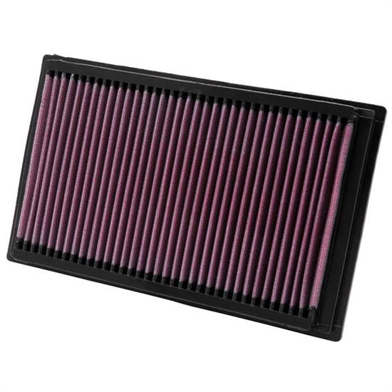 K&N 33-2357 Lifetime Performance Air Filter, Ford/Mercury 2.3L-2.5L