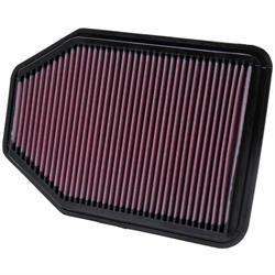 K&N 33-2364 Lifetime Performance Air Filter, Jeep 3.6L-3.8L