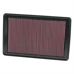 K&N 33-2369 Lifetime Performance Air Filter, Opel 2.0L, Pontiac 2.0L