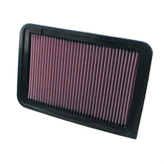 K&N 33-2370 Lifetime Performance Air Filter, Toyota 2.4L-2.7L