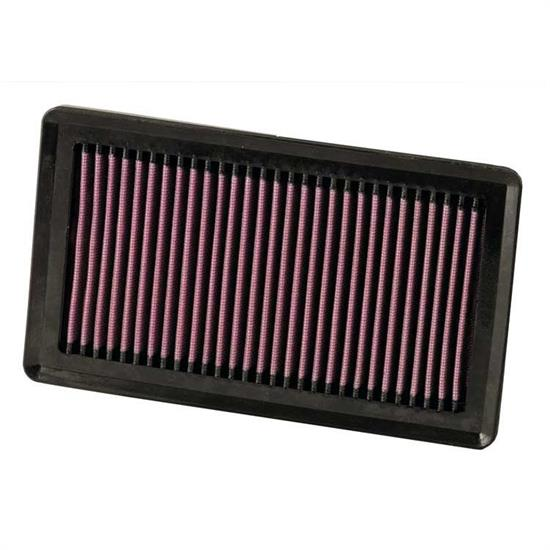 K&N 33-2375 Lifetime Performance Air Filter, Nissan 1.5L-2.0L