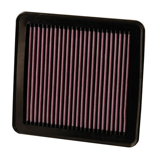 K&N 33-2380 Lifetime Air Filter, Hyundai 1.4L-2.0L, Kia 1.4L-2.4L