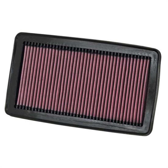 K&N 33-2383 Lifetime Performance Air Filter, Acura 3.7L