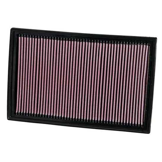 K&N 33-2384 Lifetime Performance Air Filter, Audi 2.0-3.2, Skoda 3.6