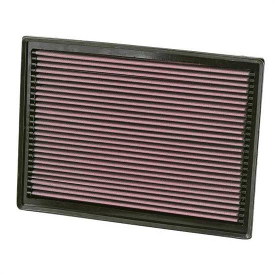 K&N 33-2391 Lifetime Performance Air Filter, Dodge 3.0L-3.5L