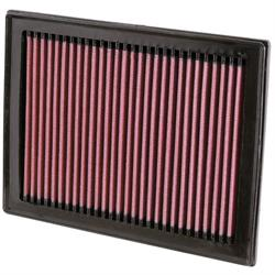 K&N 33-2409 Lifetime Air Filter, Infiniti 3.5L-5.6L, Nissan 1.2L-2.5L