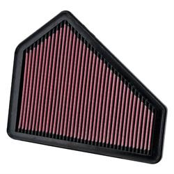 K&N 33-2411 Lifetime Performance Air Filter, Cadillac 2.8L-6.2L