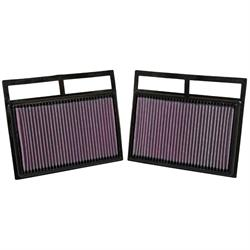 K&N 33-2412 Lifetime Performance Air Filter, Mercedes Benz 5.5L-6.0L