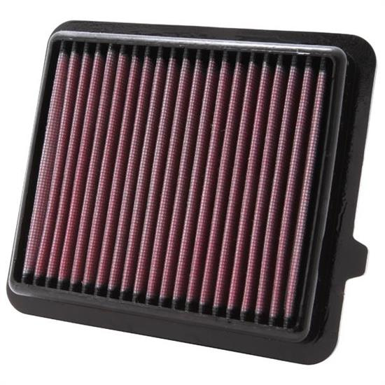 K&N 33-2433 Lifetime Performance Air Filter, Honda 1.3L
