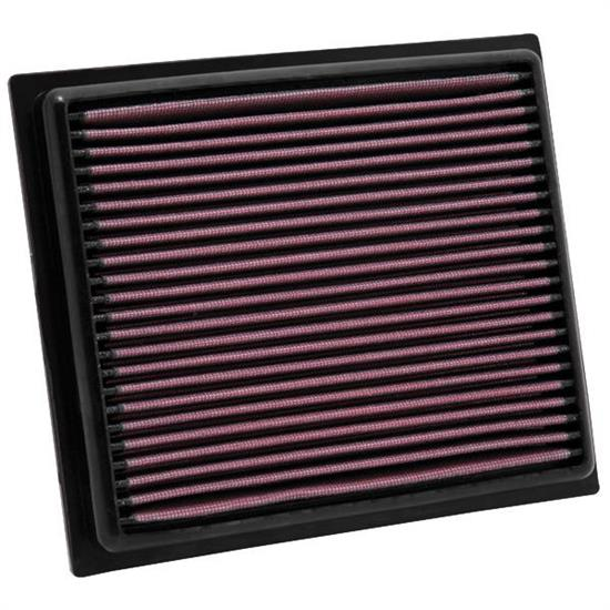 K&N 33-2435 Lifetime Air Filter, Lexus 1.8L-2.5L, Toyota 1.8L-2.5L