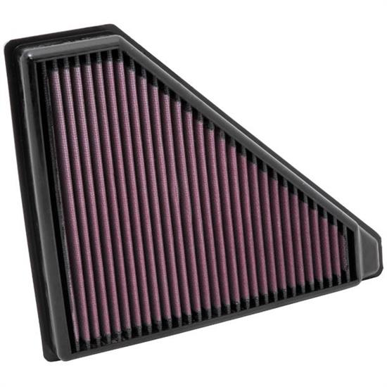 K&N 33-2436 Lifetime Performance Air Filter, Ford 2.0L-2.5L