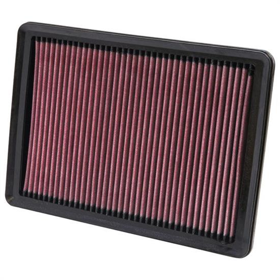 K&N 33-2447 Lifetime Performance Air Filter, Kia 3.8L-4.6L