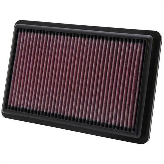 K&N 33-2454 Lifetime Performance Air Filter, Acura 3.7L
