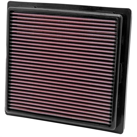 K&N 33-2457 Lifetime Air Filter, Dodge 3.6L-5.7L, Jeep 3.6L-6.4L