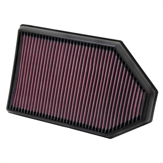 K&N 33-2460 Lifetime Air Filter, Chrysler 3.6L-6.4L, Dodge 3.6L-6.4L