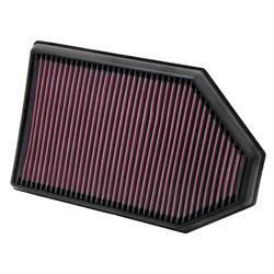 K&N 33-2460 Lifetime Air Filter, Chrysler 3.6L-6.4L, Dodge 3.6L-6.4L