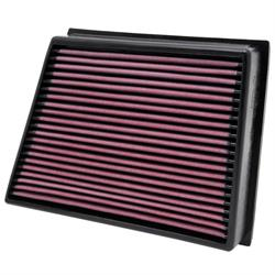 K&N 33-2466 Lifetime Performance Air Filter, Chevy/GMC 6.6L
