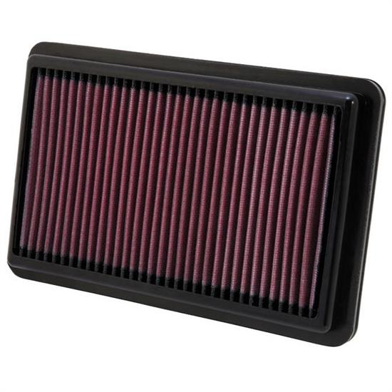 K&N 33-2473 Lifetime Performance Air Filter, Acura 2.4-3.5, Honda 2.4