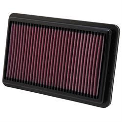 K&N 33-2473 Lifetime Performance Air Filter, Acura 2.4-3.5, Honda 2.4