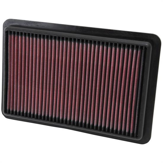 K&N 33-2480 Lifetime Performance Air Filter, Mazda 2.0L-2.5L
