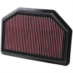 K&N 33-2481 Lifetime Performance Air Filter, Hyundai 3.8L