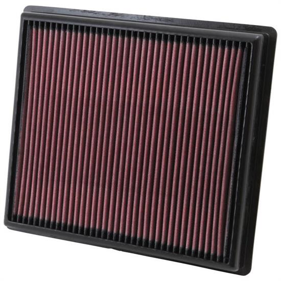 K&N 33-2483 Lifetime Performance Air Filter, Cadillac 3.6L, Chevy 3.6L