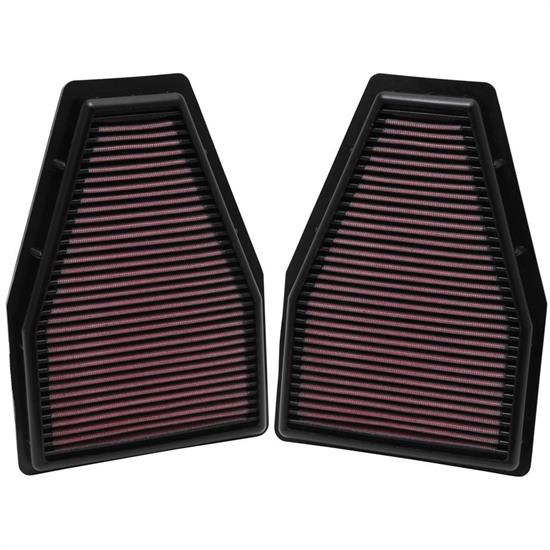 K&N 33-2484 Lifetime Performance Air Filter, Porsche 3.4L-3.8L