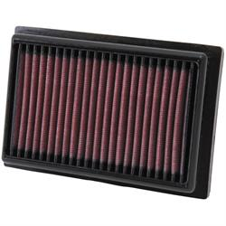 K&N 33-2485 Lifetime Performance Air Filter, Citroen 1.0, Peugeot 1.0
