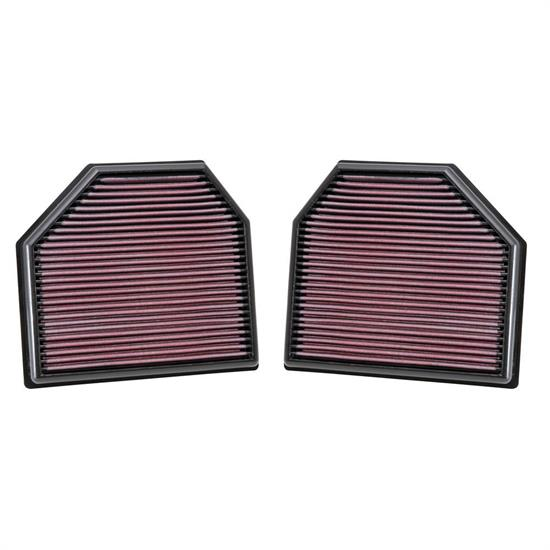 K&N 33-2488 Lifetime Performance Air Filter, BMW 3.0L-4.4L