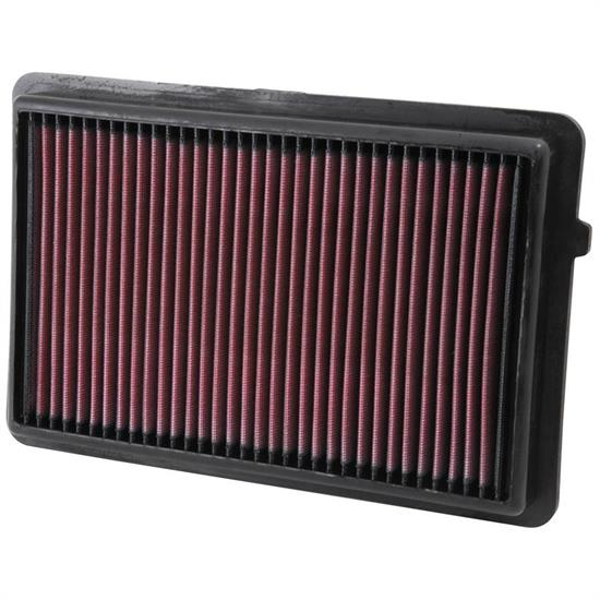 K&N 33-2489 Lifetime Performance Air Filter, Acura 3.5L