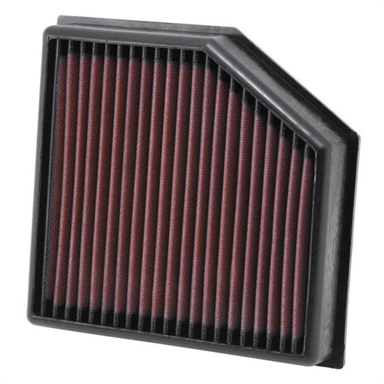 K&N 33-2491 Lifetime Performance Air Filter, Dodge 1.4L-2.4L
