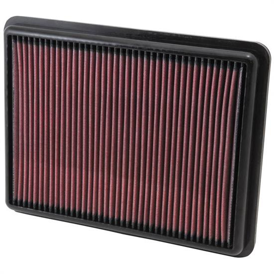 K&N 33-2493 Lifetime Air Filter, Hyundai 2.0L-3.3L, Kia 2.4L-3.3L