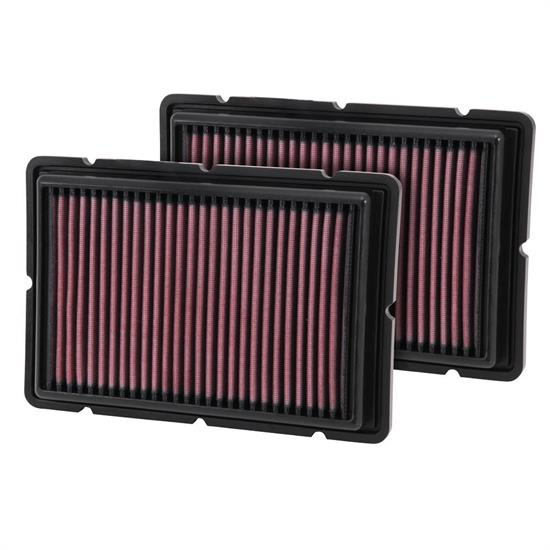 K&N 33-2494 Lifetime Performance Air Filter, Ferrari 3.6L-4.3L