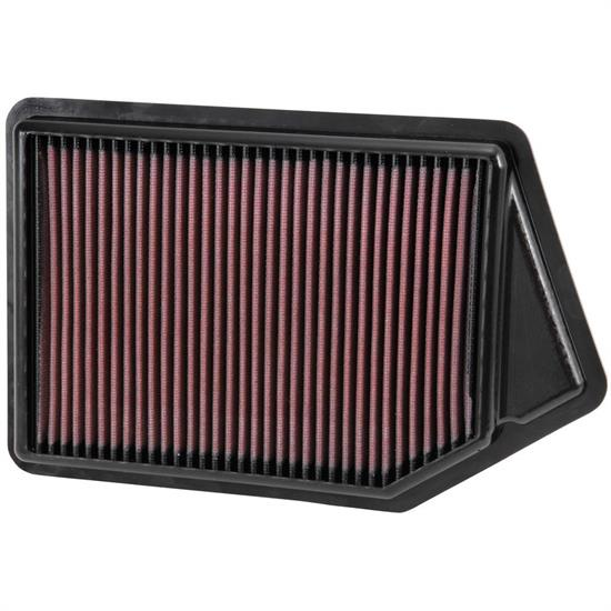 K&N 33-2498 Lifetime Performance Air Filter, Acura 2.4L, Honda 2.4L