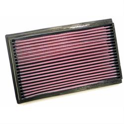K&N 33-2500 Lifetime Performance Air Filter, Opel/Vauxhall 1.8L-2.0L