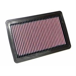 K&N 33-2525 Lifetime Performance Air Filter, Fiat 1.3L-1.5L