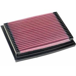 K&N 33-2564 Lifetime Performance Air Filter, Ford 1.6L-1.8L