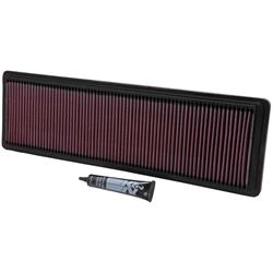 K&N 33-2591 Lifetime Performance Air Filter, Porsche 4.4L-5.4L