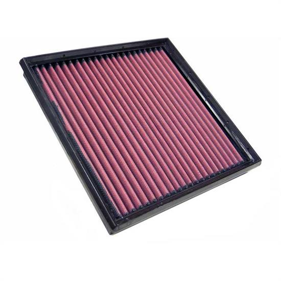 K&N 33-2664 Lifetime Performance Air Filter, Ford 2.0L-2.9L