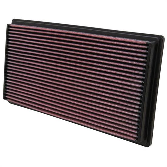 K&N 33-2670 Lifetime Performance Air Filter, Volvo 2.0L-2.5L