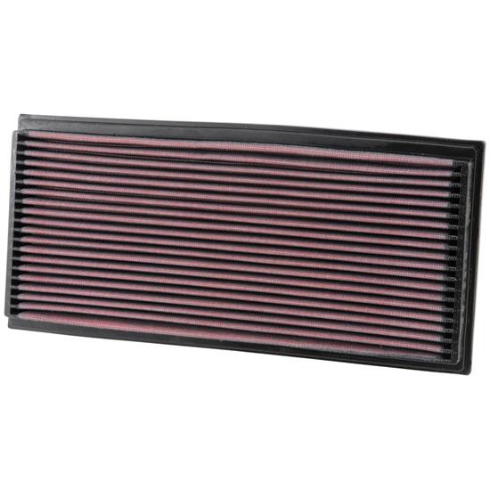 K&N 33-2678 Lifetime Performance Air Filter, Mercedes Benz 2.2L-6.0L