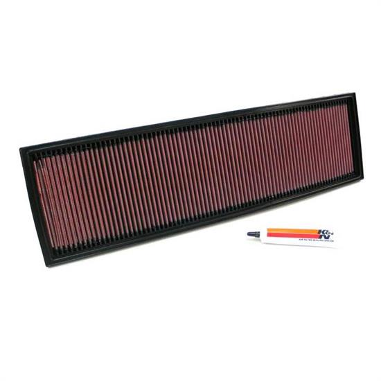 K&N 33-2706 Lifetime Performance Air Filter, BMW 2.5L