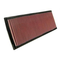 K&N 33-2722 Lifetime Performance Air Filter, Porsche 3.0L