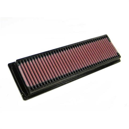 K&N 33-2725 Lifetime Performance Air Filter, Peugeot 1.3L