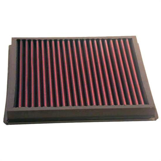 K&N 33-2746 Lifetime Performance Air Filter, 1.188in Tall, Panel
